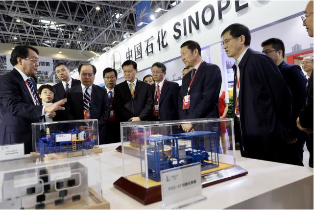 长城润滑油参与国际石油天然气及石化技术装备展览会