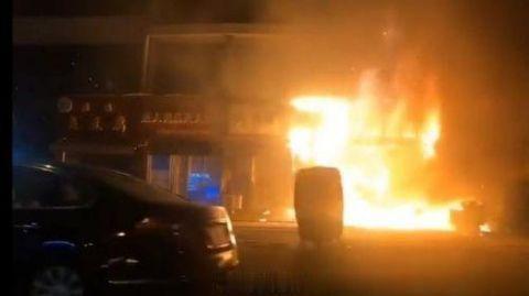 无锡钱桥着火无人员伤亡 火灾原因正在进一步调查中