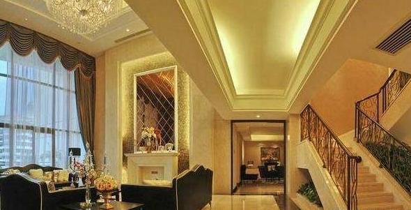 黄磊现实豪宅 金碧辉煌有一种皇宫的感觉