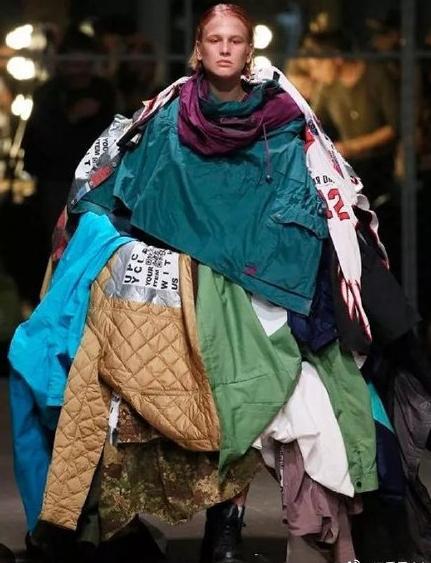 说起看不懂的时尚圈 Gucci米兰时装周走秀服装当之无愧了!