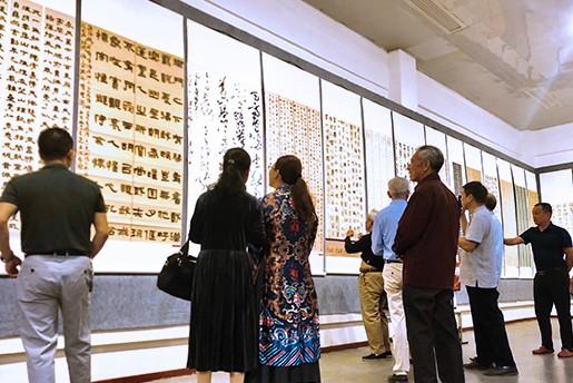 """""""礼赞新时代""""全国红色文化书法、摄影作品展在瑞金市开幕"""