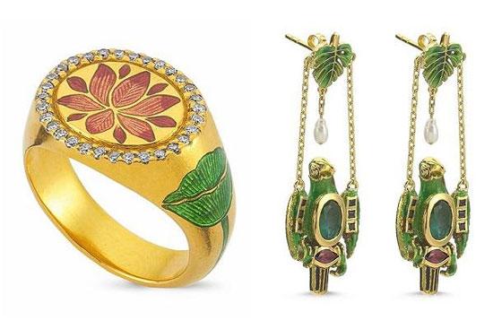 """澳大利亚珠宝设计师Olivia Cummings推出全新""""The Silk Road""""珠宝系列"""