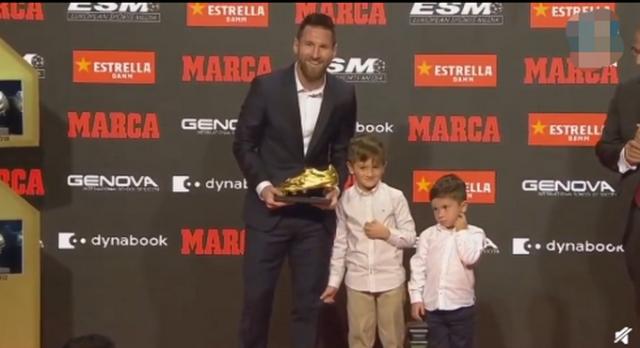 梅西6夺欧洲金靴 再次创造历史
