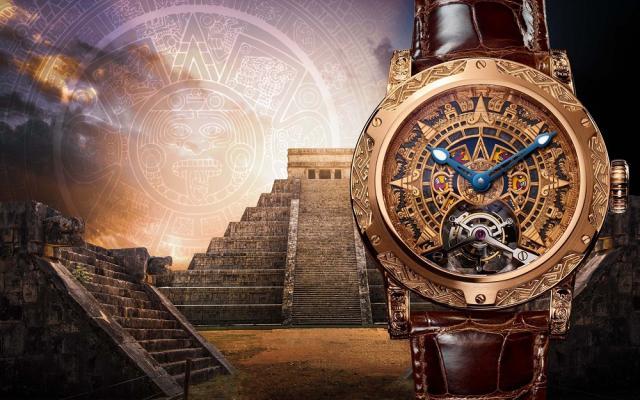 瑞士Louis Moinet刚刚推出一款陀飞轮腕表 致敬墨西哥古老而神秘的传奇文化