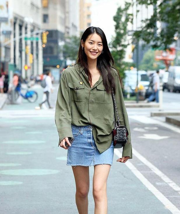 秋冬必备的衬衫超减龄穿搭 你学会了吗?