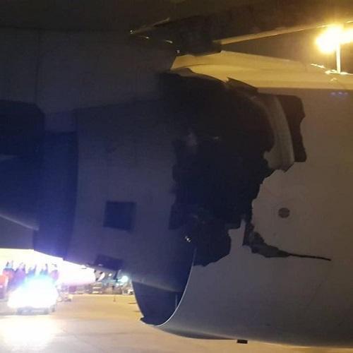 泰航起飞前爆炸声 机组当即减速放弃起飞