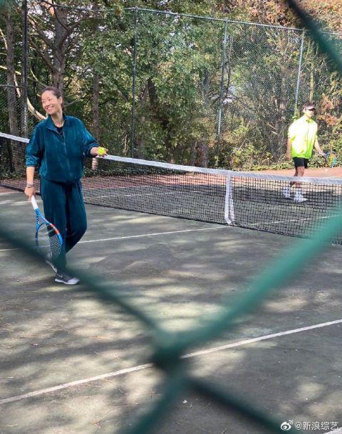 李娜综艺首秀 带领一群人组队打网球