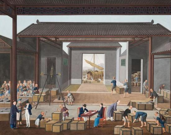 凯尔顿珍藏的一系列中国外销画作将亮相佳士得伦敦