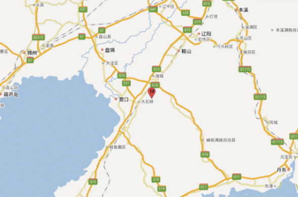 鞍山3.0级地震 网友称海城震感强烈