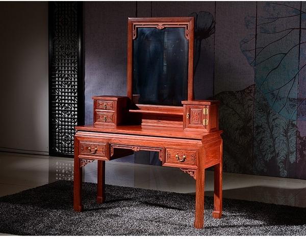 """""""明清古典化妆台柜""""红木家具的价格"""