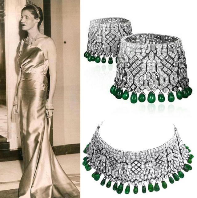 拥有无数奢华珠寶的传奇女人——黛西·法罗