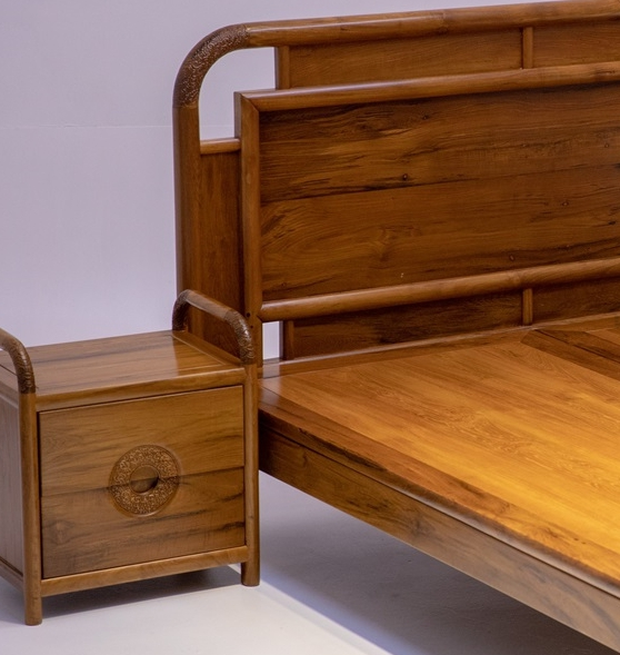 """""""古式柚木床""""红木家具的价格多少钱?"""