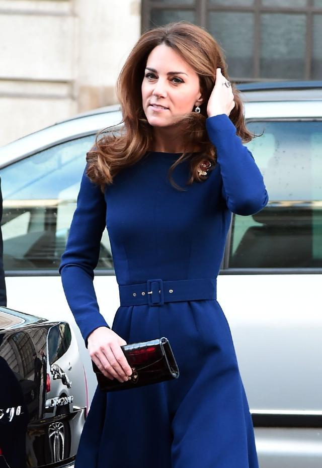 威廉王子和凯特王妃现身伦敦街头 依旧有美感!