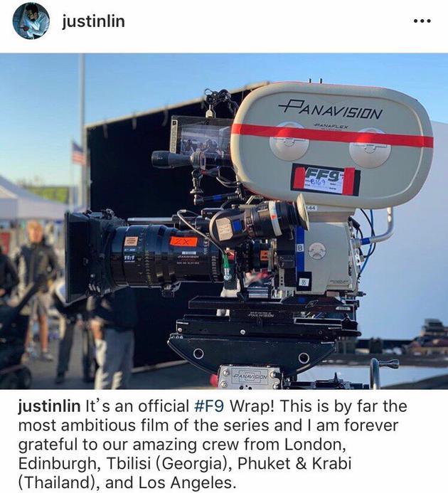 《速度与激情9》杀青 上映时间也已确定