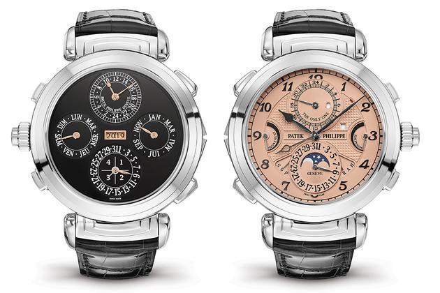 一款百达翡丽手边拍卖出3100万瑞士法郎天价 成为史上最贵手表