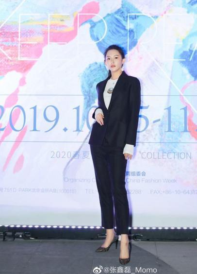 陌陌主播张鑫磊受到邀请 出席中国国际時裝周