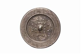 西汉四神规矩纹铜镜鉴赏