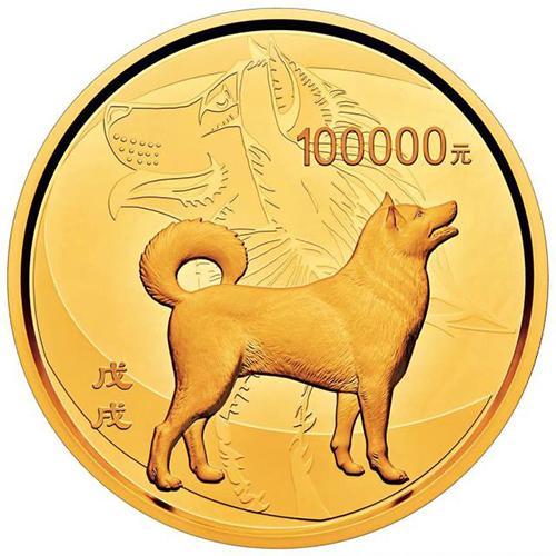"""10公斤狗年""""1号""""金币亮相钱博会受关注"""