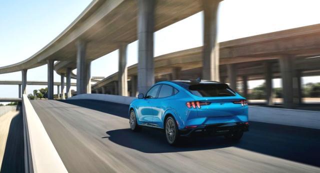 福特Mustang家族纯电动SUV Mustang Mach-E在美国洛杉矶全球首发