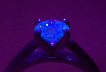 钻石荧光好不好