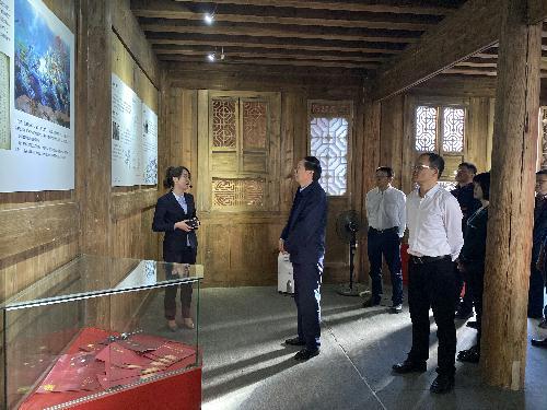 国家文物局局长刘玉珠一行赴福建调研文物工作