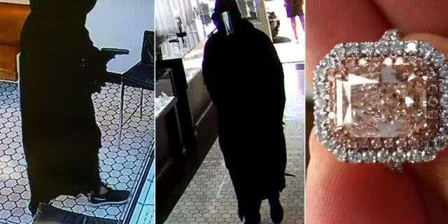 一窃贼盗走100多万美元的珠宝 警方悬赏5万美元缉拿罪犯