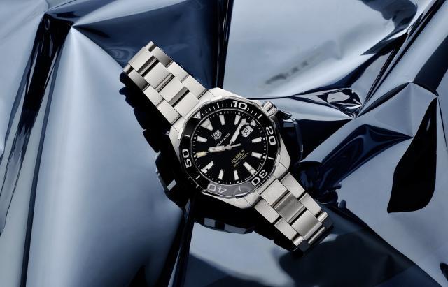 泰格豪雅竞潜系列重装上阵 推出全新Aquaracer竞潜系列腕表