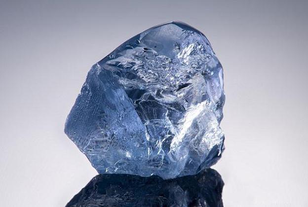 一颗20.08ct宝石级蓝钻原石以1490万美元成交