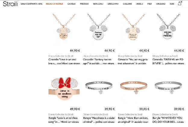意大利轻奢珠宝品牌Stroili携手迪士尼推出跨界联名款珠宝
