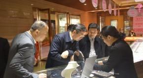 国家珠宝玉石质量监督检验中心赴上塘银饰小镇调研