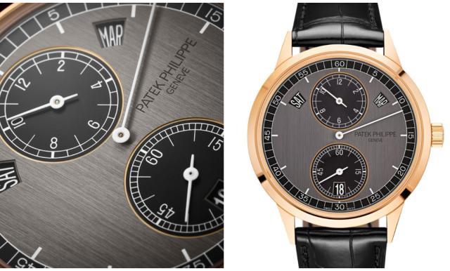 三针一线年历表的魅力 百达翡丽推出新腕表
