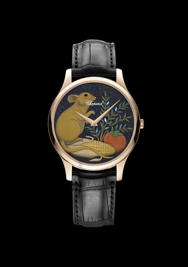 萧邦向亚洲传统致敬 制作LUC XP鼠年莳绘腕表