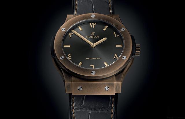 秉承与众不同 宇舶首款完全由青铜制成的腕表