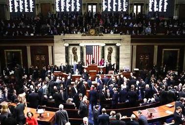 众议院通过对特朗普的弹劾条款 黄金短线急涨