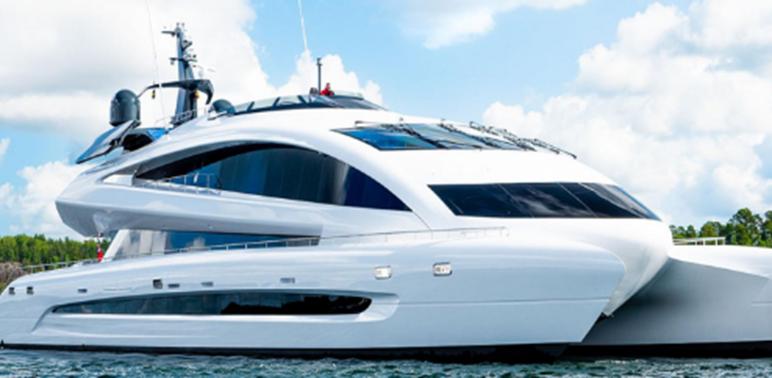 保时捷设计的超级游艇已投放市场