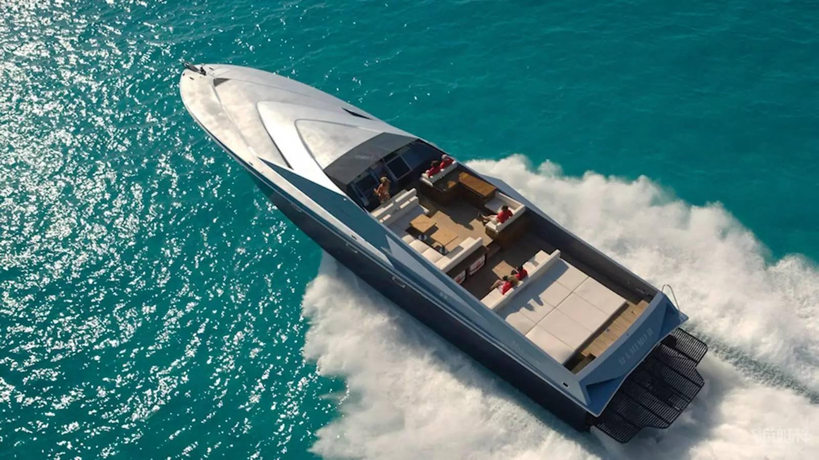 与Rossinavi联手推出了一艘豪华概念游艇——Super Sport 65