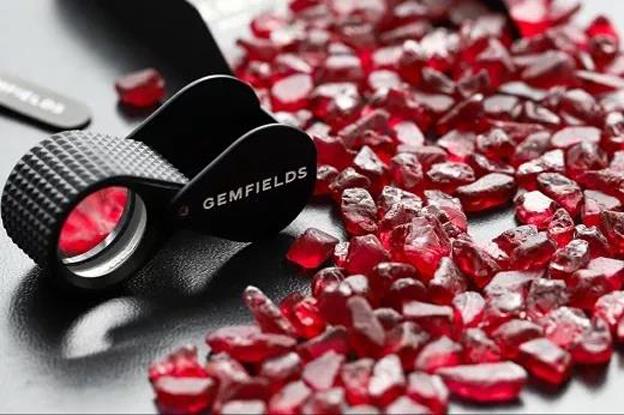 Gemfields出售首批启用区块链的红宝石