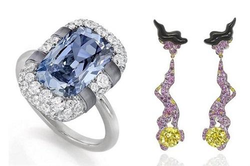 苏富比钻石推出新一季钻石珠宝作品 大胆而具有出色的视觉冲击力