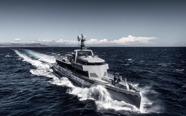全球最大铝合金超级游艇:更快更省油更环保!