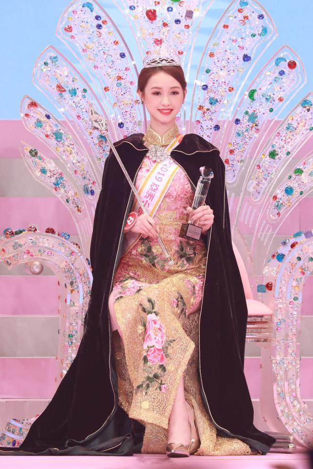 2019亚洲小姐冠军 长相甜美气质佳
