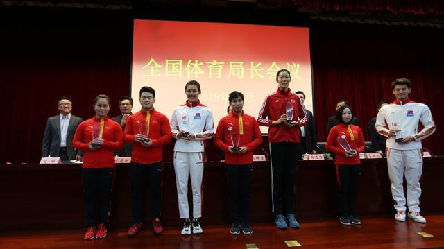 朱婷被授训练标兵 中国女排超级联赛屡创佳绩