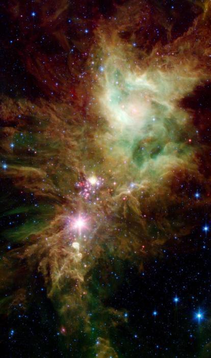 NASA发现雪花群 状似雪花形如火焰