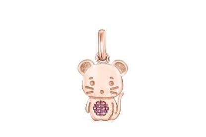 西班牙珠宝品牌TOUS携十二生肖系列之鼠年限定款强势来袭