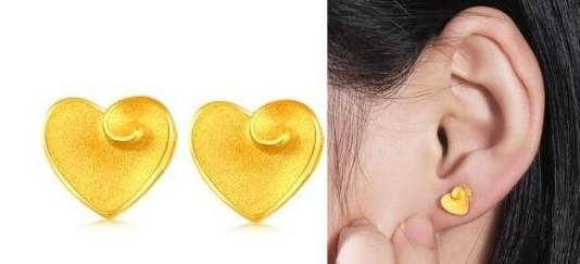 这样搭配黄金耳 绝对变得时尚又精巧!