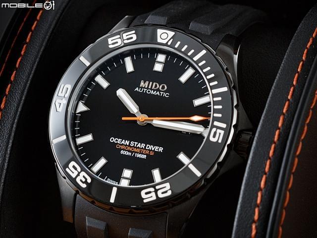 美度特别推出了全新Ocean Star Diver 600海洋之星深潜600米腕表