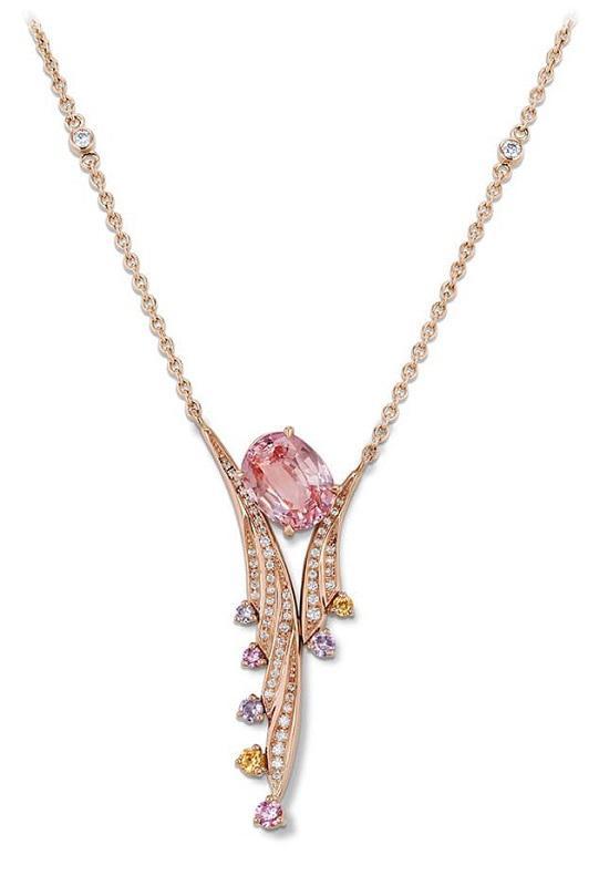 """瑞士珠宝品牌Gübelin 推出""""Aurora""""珠宝系列新作"""