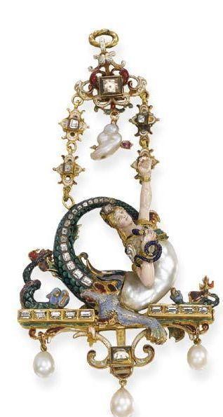 """珠宝设计师的""""灵感缪斯""""——巴洛克珍珠"""