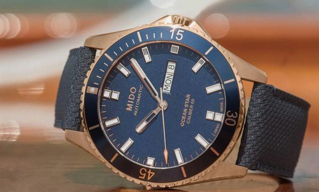 以运动为主打! MIDO海洋之星领航80小时腕表