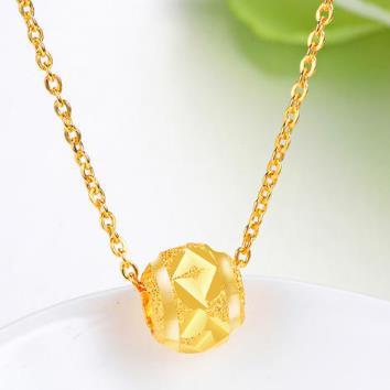 黄金吊坠适合应该配什么样的项链?