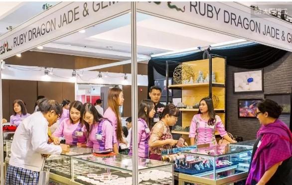 第三届仰光国际珠宝与首饰展览会开幕